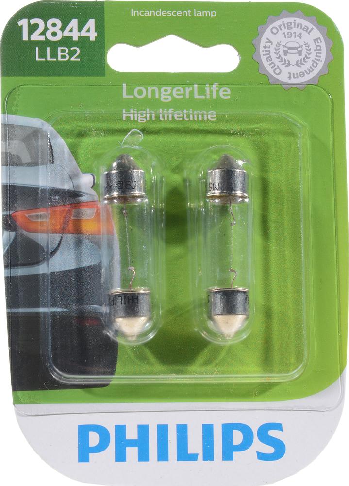 PHILIPS LIGHTING COMPANY - Longerlife - Twin Blister Pack - PLP 12844LLB2