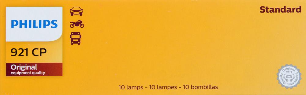 PHILIPS LIGHTING COMPANY - Standard - Multiple Commercial Pack Center High Mount Stop Light Bulb - PLP 921CP