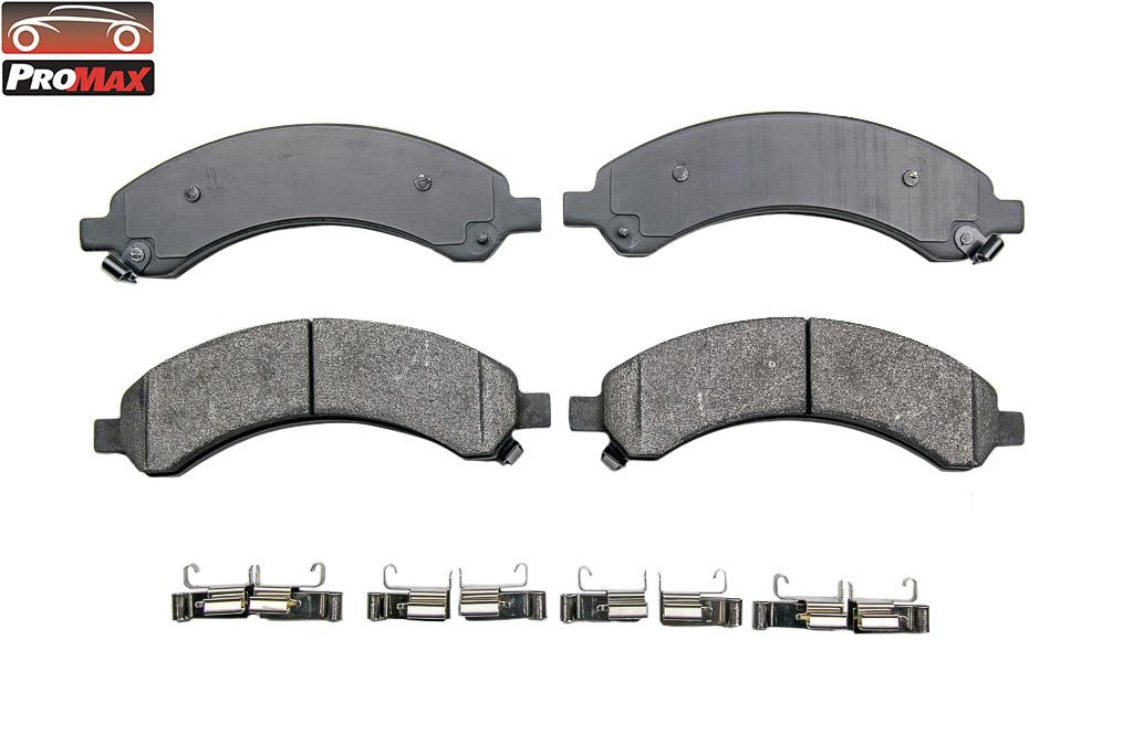 PROMAX - Severe Duty Metallic Disc Brake Pad W/ Kit - POX 19-989