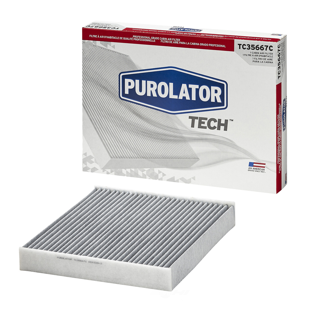 PUROLATOR - Cabin Air Filter (Under Dashboard) - PUR TC35667C