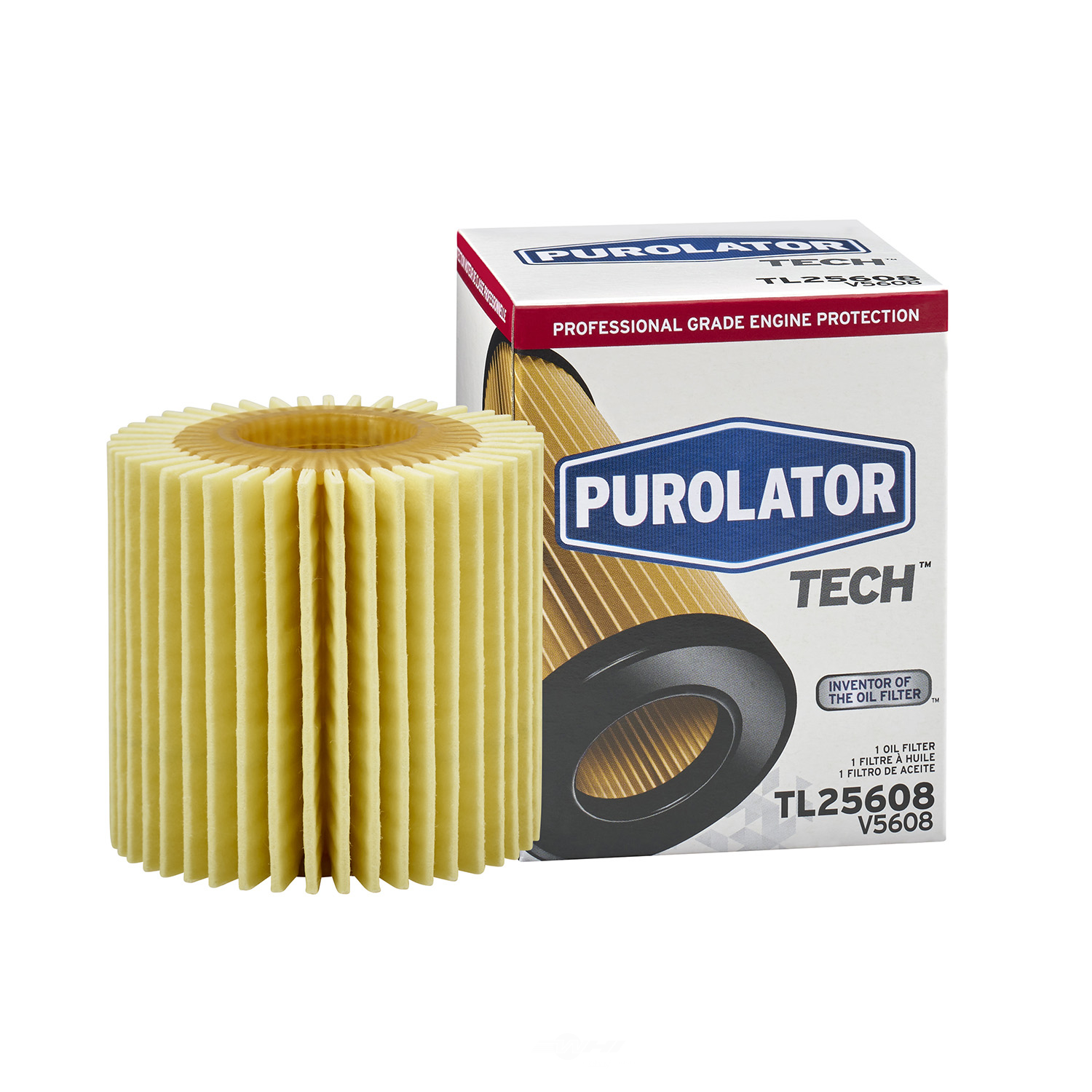 PUROLATOR - Engine Oil Filter - PUR TL25608