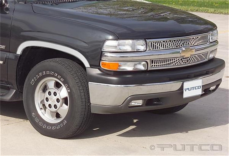 PUTCO - Stainless Steel Wheel Arch Trim Set - PUT 97101