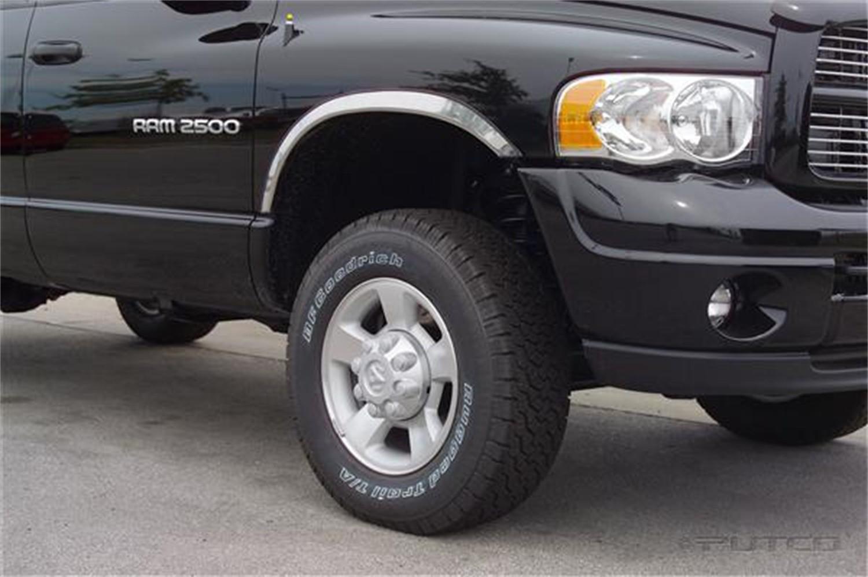 PUTCO - Stainless Steel Wheel Arch Trim Set - PUT 97302