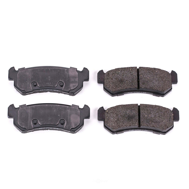 POWER STOP - Evolution Ceramic Disc Brake Pad (Rear) - PWS 16-1036