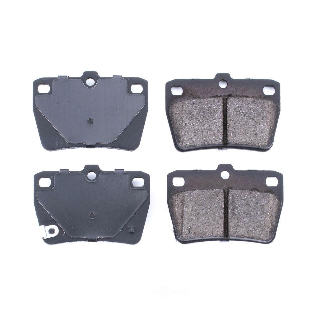 POWER STOP - Evolution Ceramic Disc Brake Pad (Rear) - PWS 16-1051