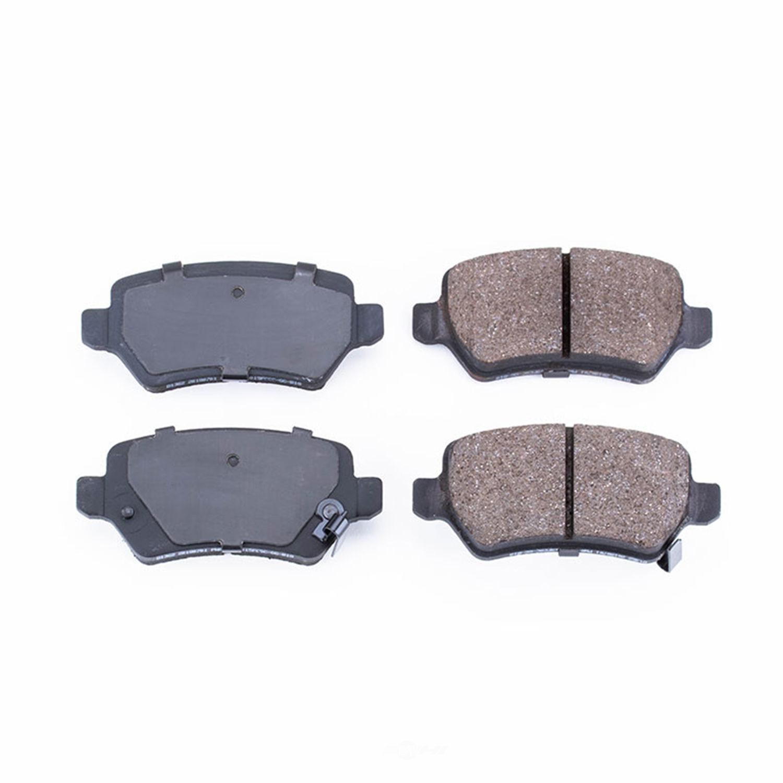 POWER STOP - Evolution Ceramic Disc Brake Pad (Rear) - PWS 16-1362