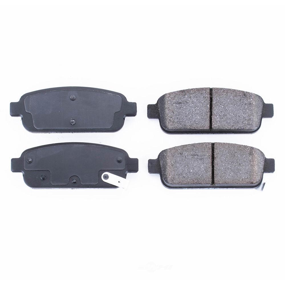 POWER STOP - Evolution Ceramic Disc Brake Pad (Rear) - PWS 16-1468