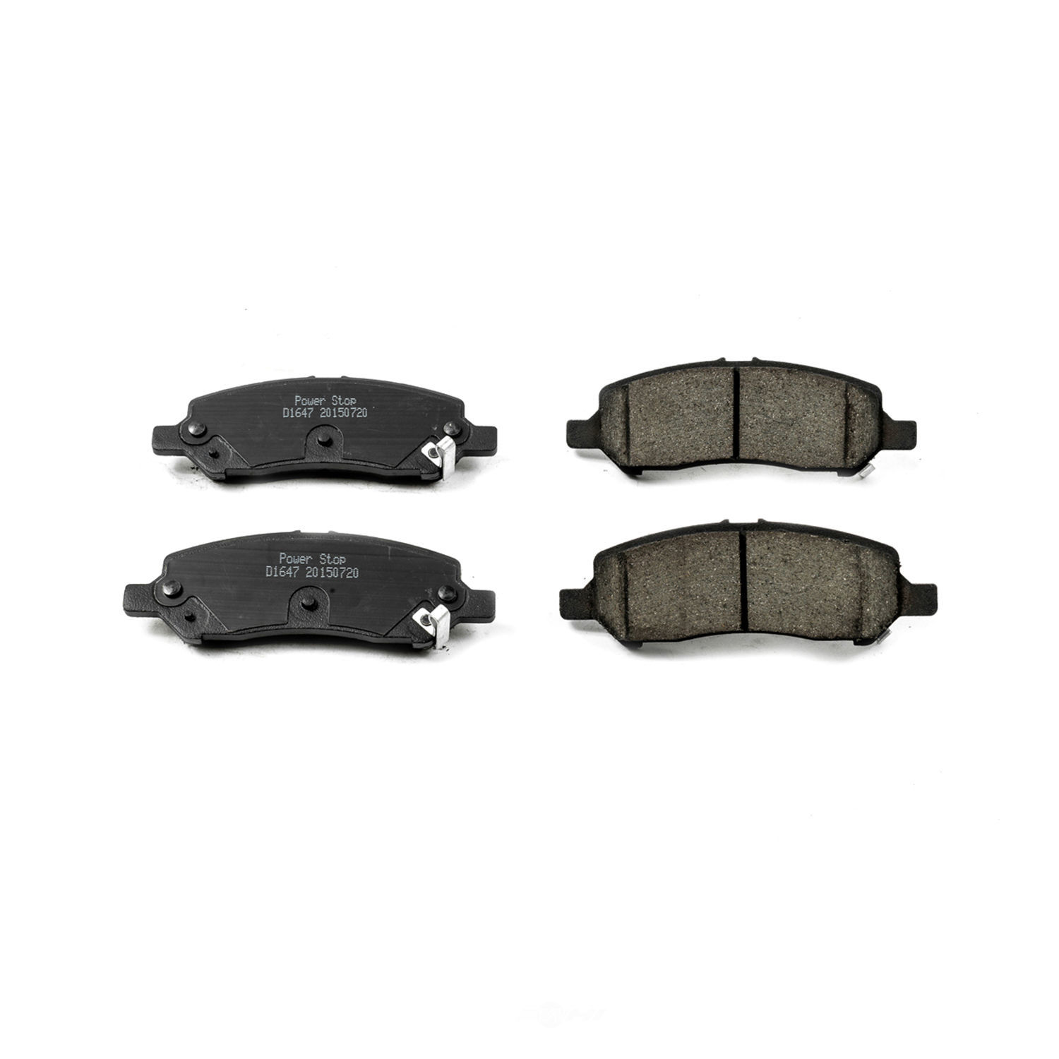 POWER STOP - Evolution Ceramic Disc Brake Pad (Rear) - PWS 16-1647