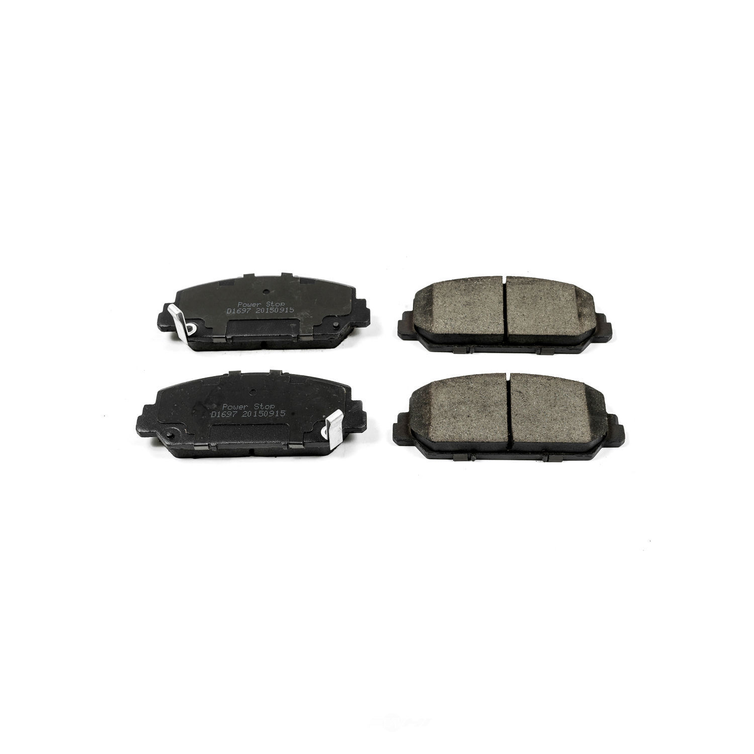 POWER STOP - Evolution Ceramic Disc Brake Pad (Front) - PWS 16-1697