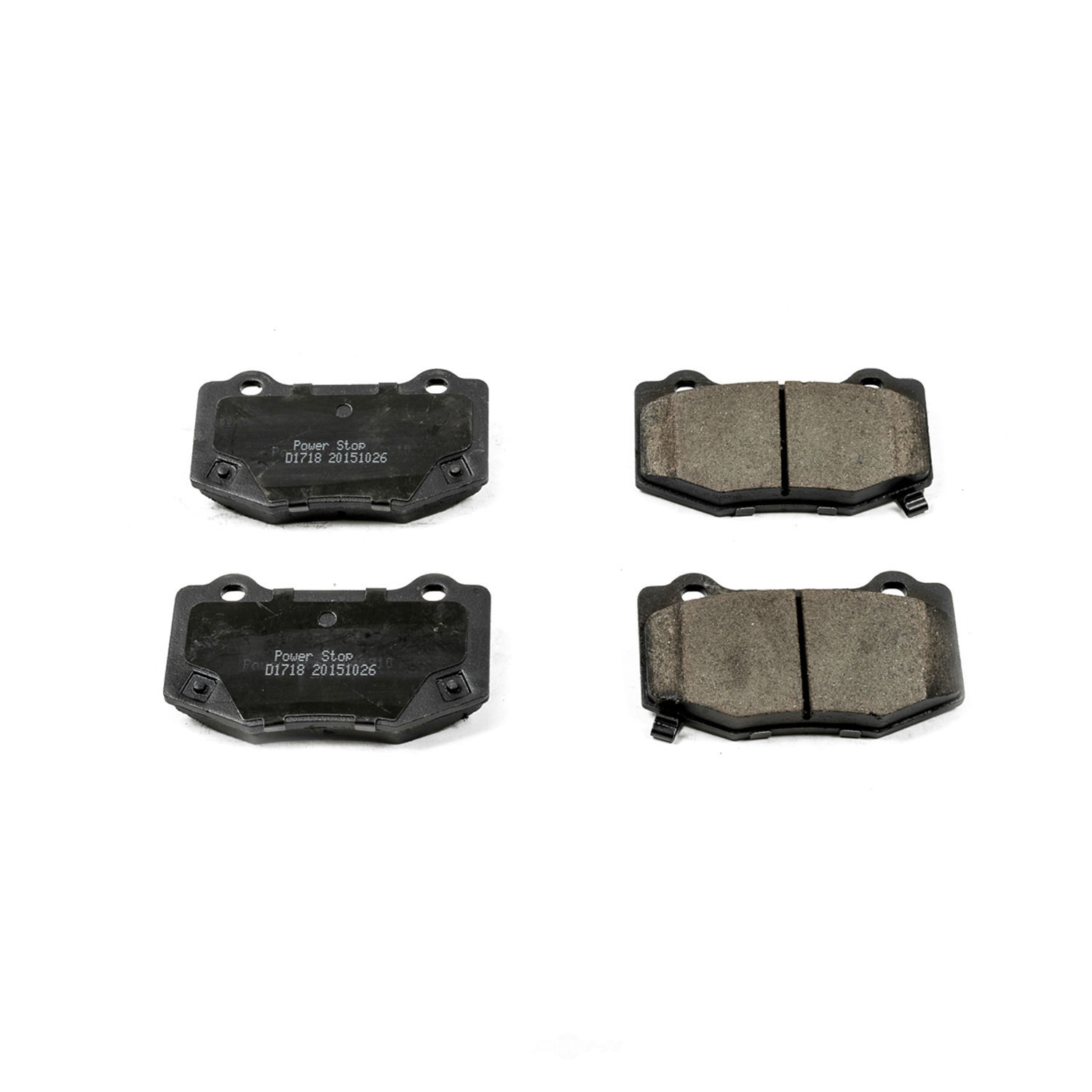 POWER STOP - Evolution Ceramic Disc Brake Pad (Rear) - PWS 16-1718