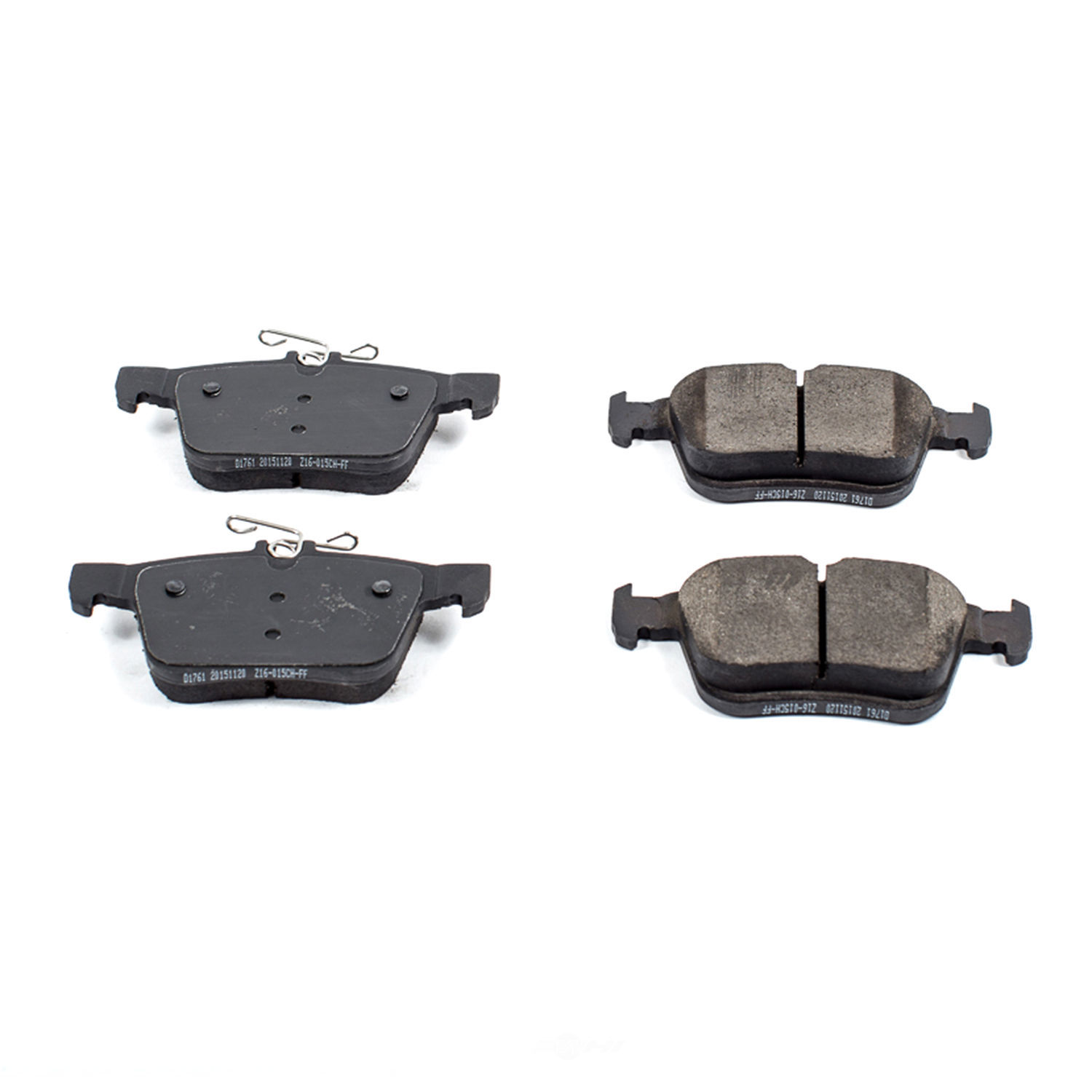POWER STOP - Evolution Ceramic Disc Brake Pad (Rear) - PWS 16-1761