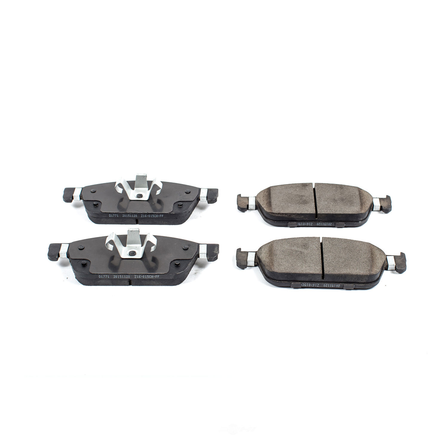 POWER STOP - Evolution Ceramic Disc Brake Pad (Front) - PWS 16-1771