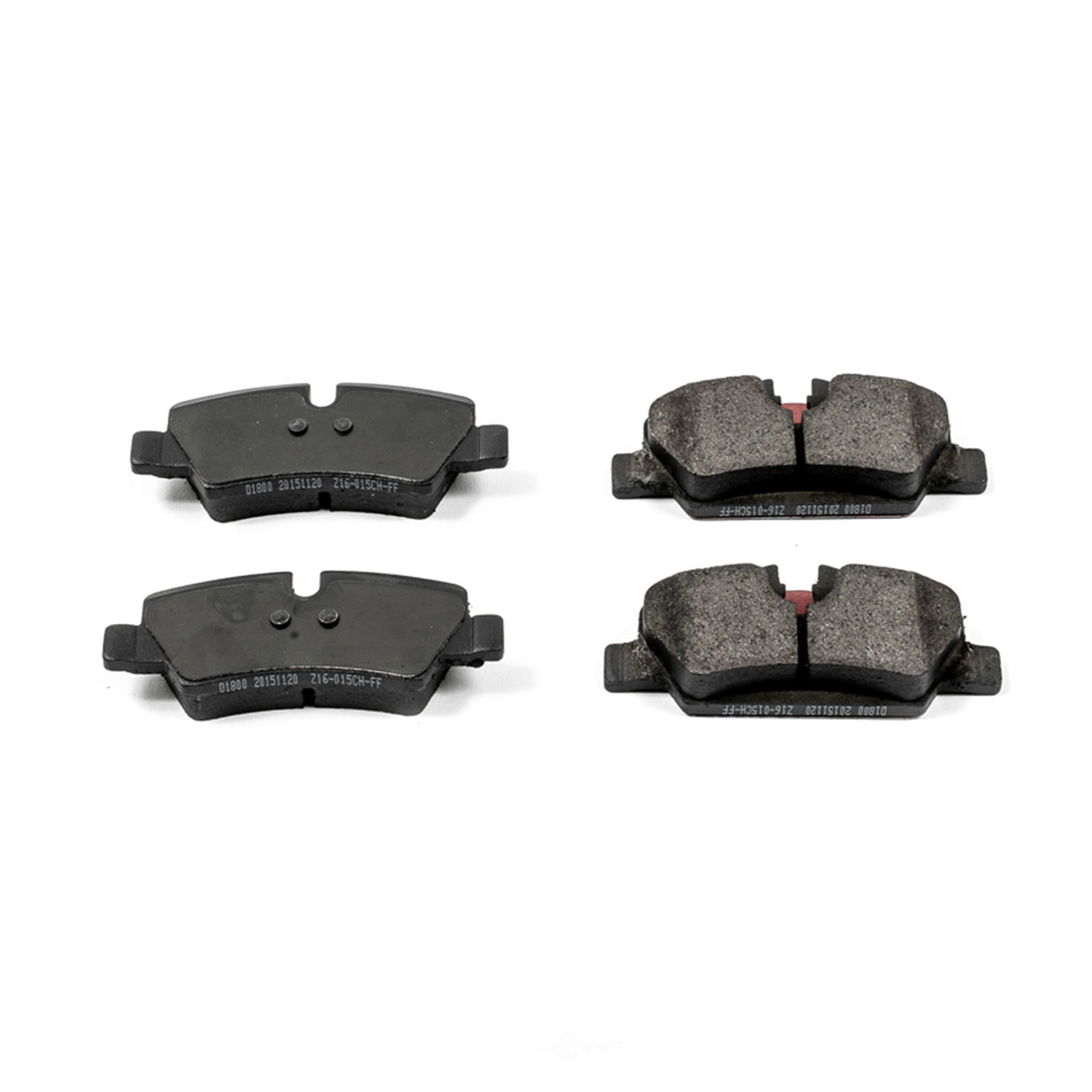 POWER STOP - Evolution Ceramic Disc Brake Pad (Rear) - PWS 16-1800