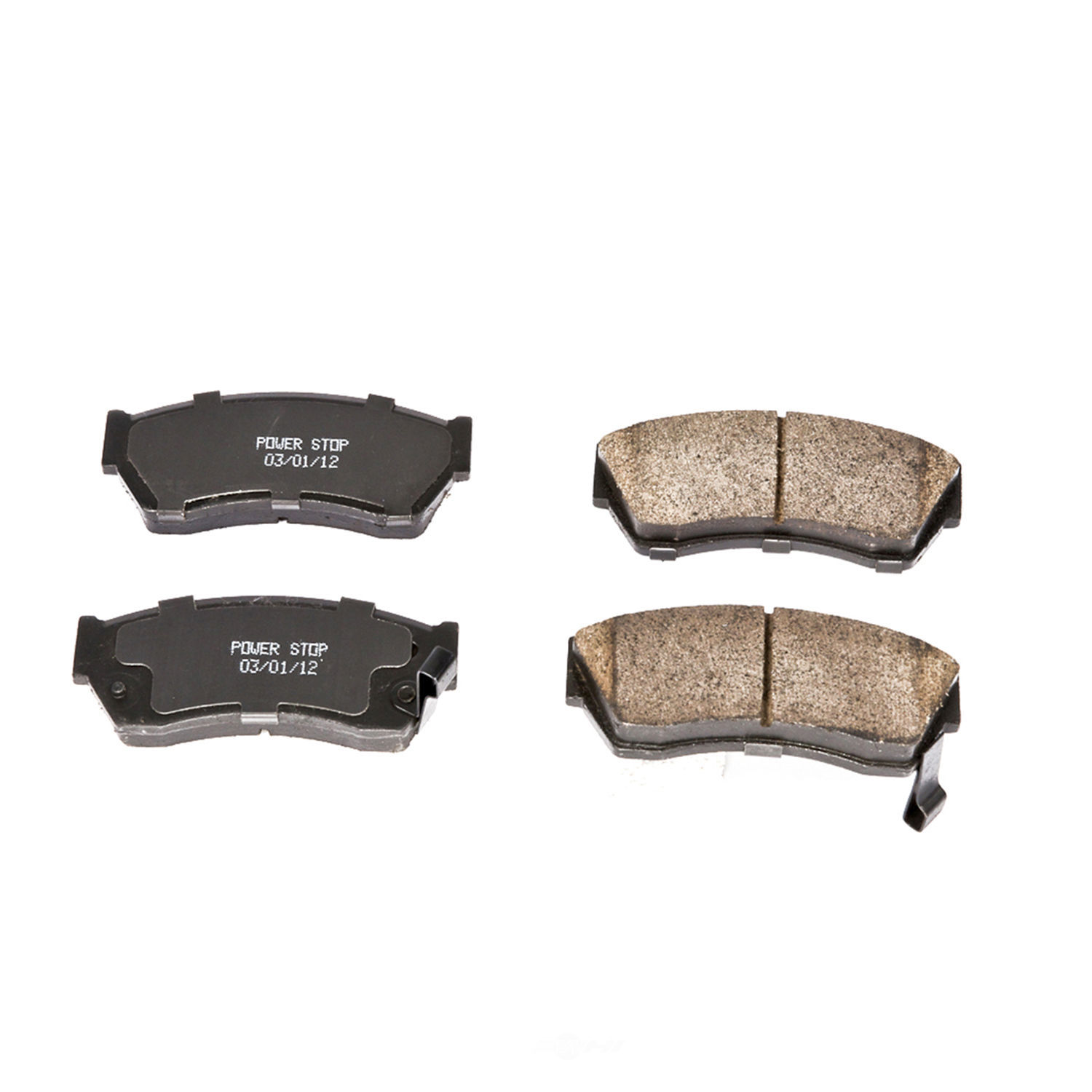 POWER STOP - Evolution Ceramic Disc Brake Pad (Front) - PWS 16-451