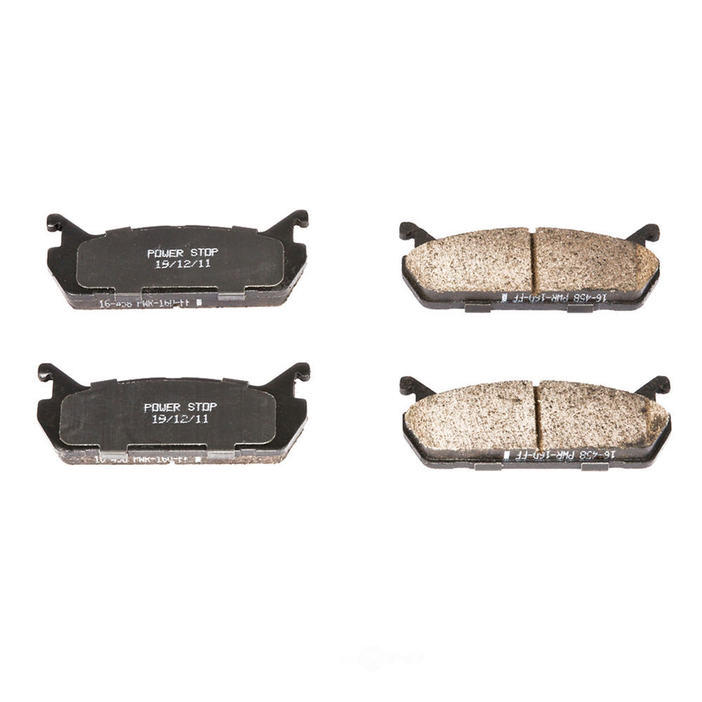 POWER STOP - Evolution Ceramic Disc Brake Pad (Rear) - PWS 16-458