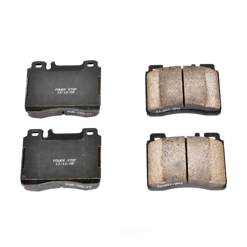 POWER STOP - Z16 EvolutionClean Ride Ceramic Brake Pads (Front) - PWS 16-577