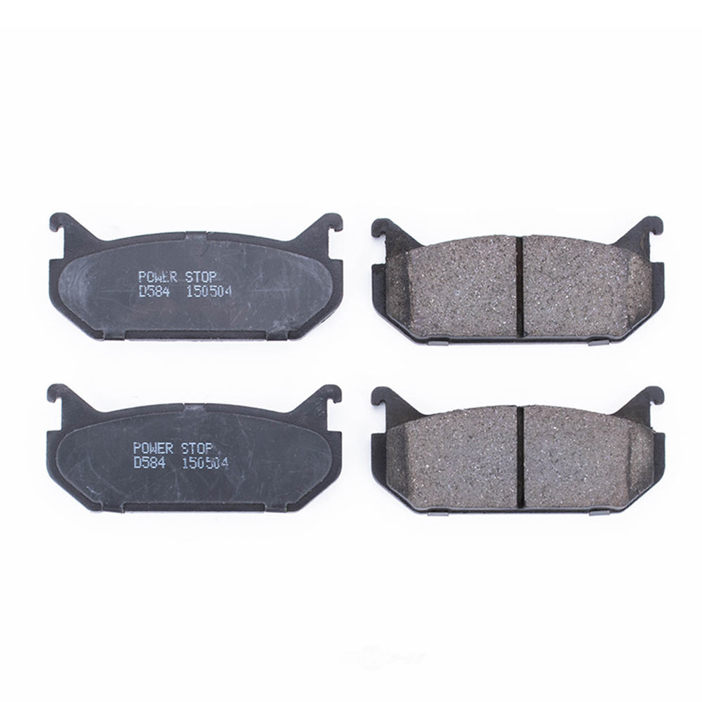 POWER STOP - Evolution Ceramic Disc Brake Pad (Rear) - PWS 16-584