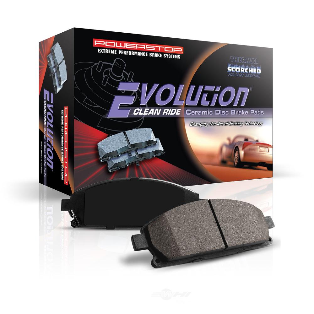 POWER STOP - Z16 EvolutionClean Ride Ceramic Brake Pads - PWS 16-696