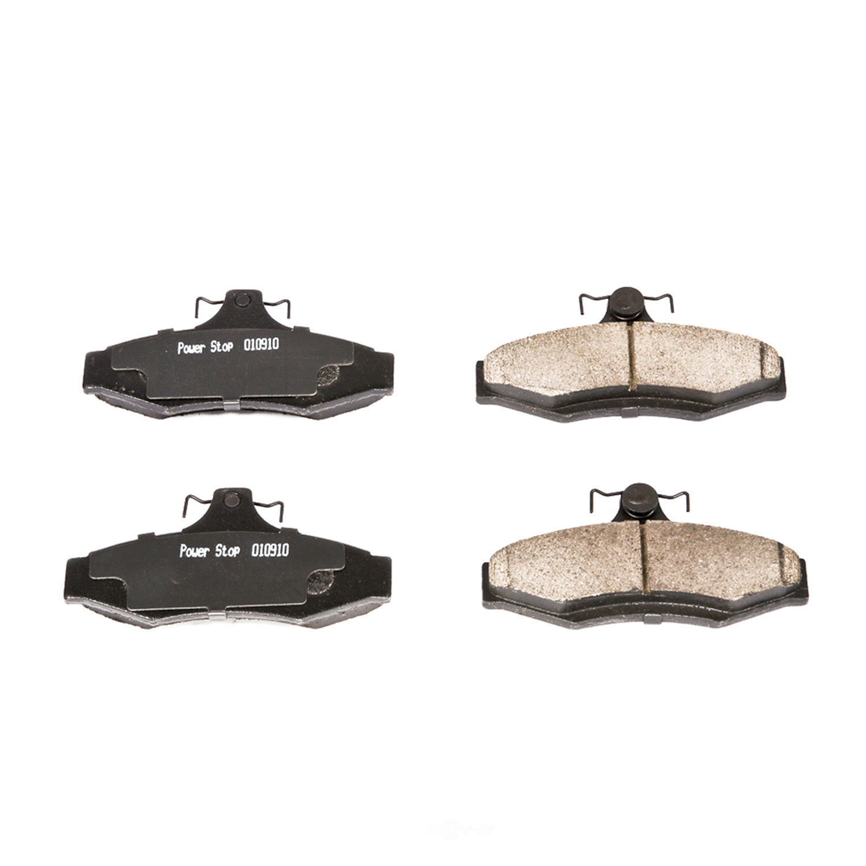 POWER STOP - Z16 EvolutionClean Ride Ceramic Brake Pads - PWS 16-724