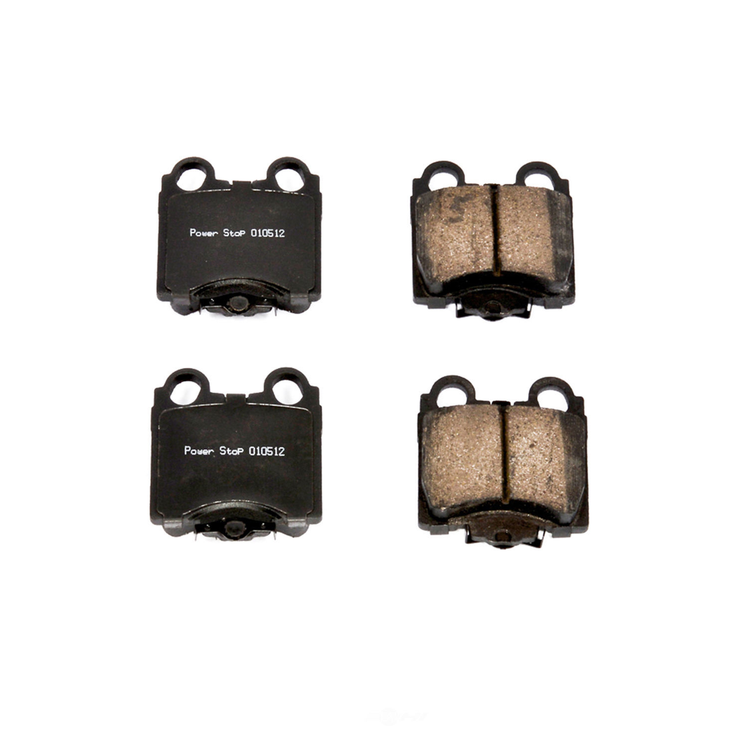 POWER STOP - Evolution Ceramic Disc Brake Pad (Rear) - PWS 16-771