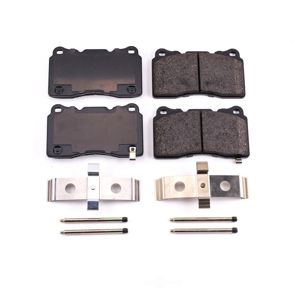 POWER STOP - Z17 Evolution Plus Disc Brake Pad (Rear) - PWS 17-1001