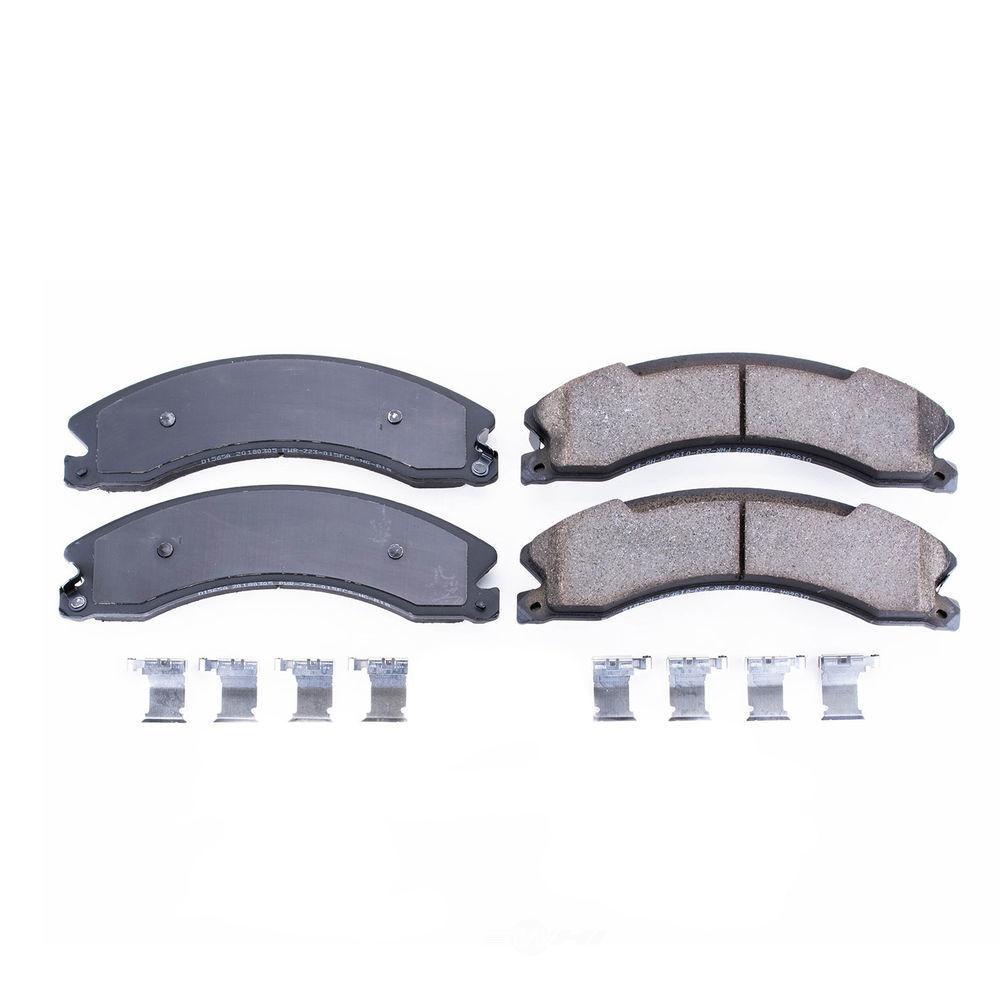 POWER STOP - Z17 Evolution Plus Disc Brake Pad (Rear) - PWS 17-1565A