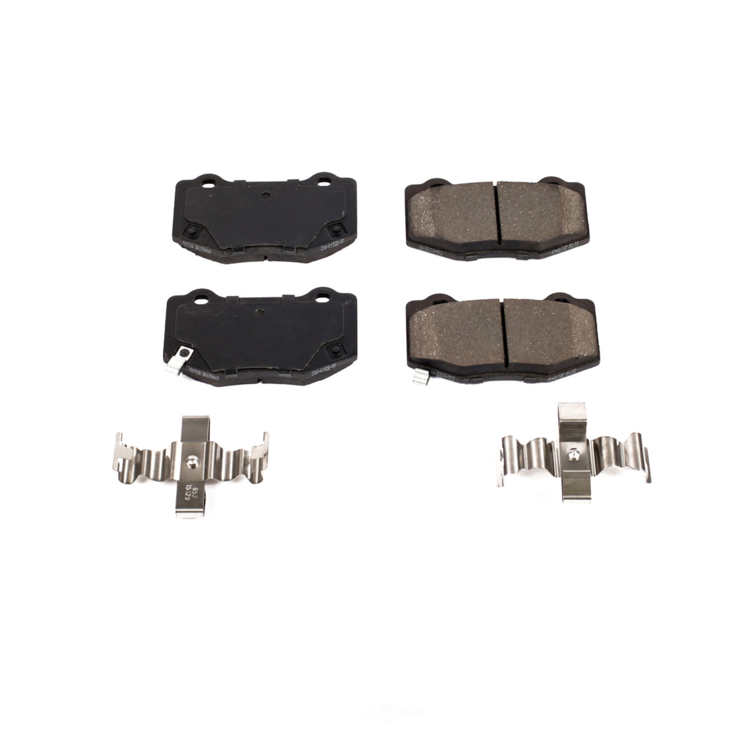 POWER STOP - Z17 Evolution Plus Disc Brake Pad (Rear) - PWS 17-1718