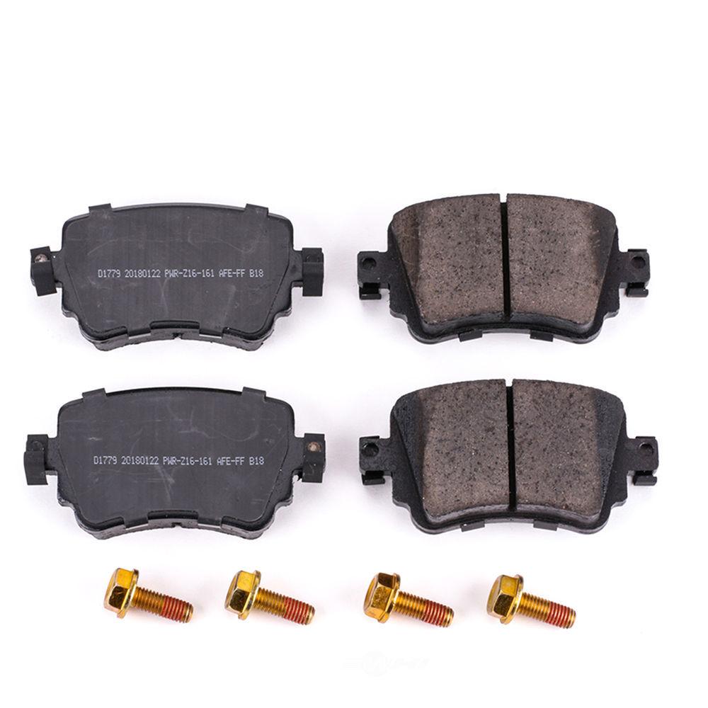 POWER STOP - Z17 Evolution Plus Disc Brake Pad (Rear) - PWS 17-1779