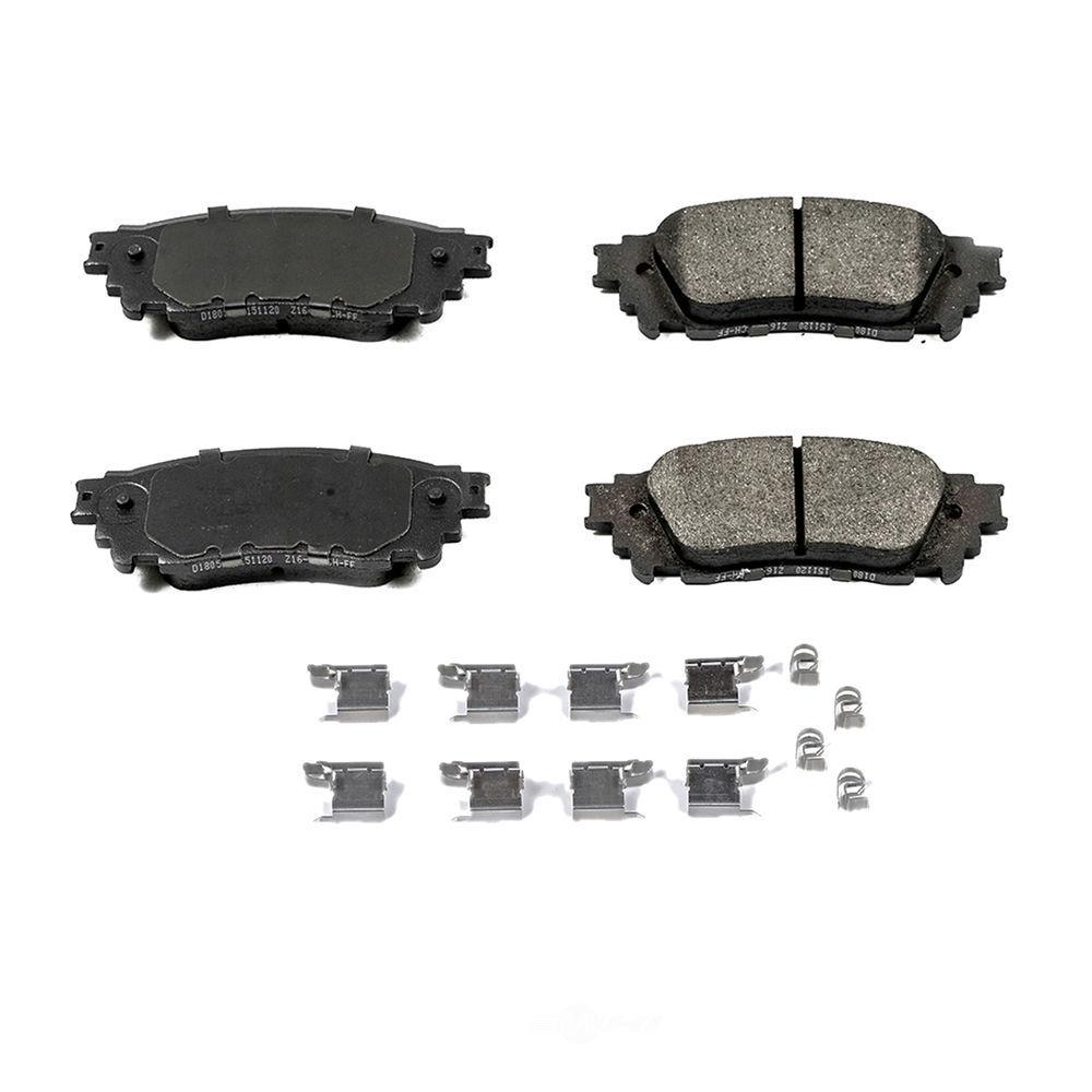 POWER STOP - Z17 Evolution Plus Disc Brake Pad (Rear) - PWS 17-1805