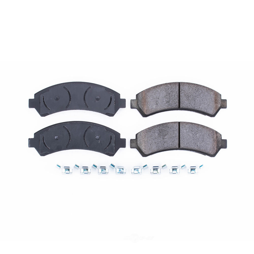 POWER STOP - Z17 EvolutionClean Ride Ceramic Brake Pads with Hardware (Front) - PWS 17-726