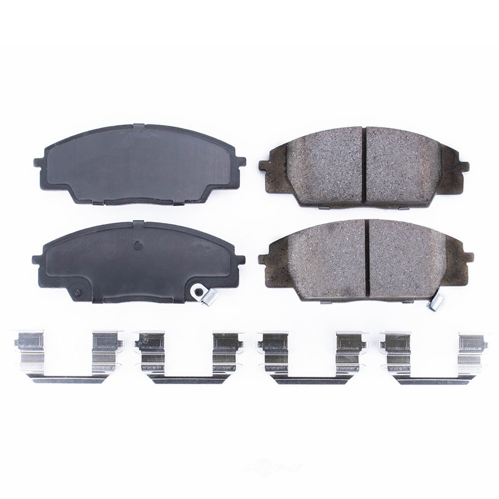 Power Stop Disc Brake Pad And Hardware Kit Part Number