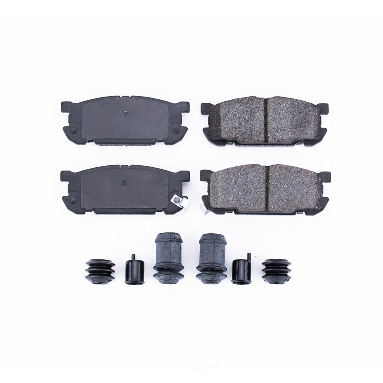 POWER STOP - Z17 Evolution Plus Disc Brake Pad and Hardware Kit (Rear) - PWS 17-891