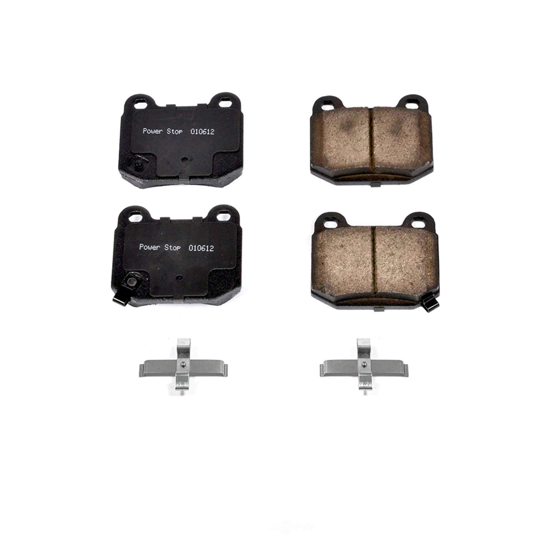 POWER STOP - Z17 Evolution Plus Disc Brake Pad (Rear) - PWS 17-961