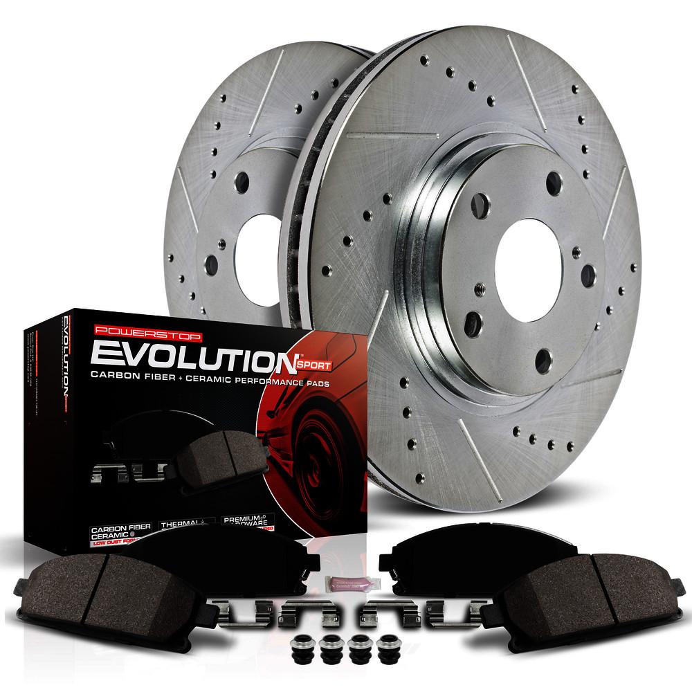 POWER STOP - Z23 EvolutionSport Brake Upgrade Kit - PWS K7371