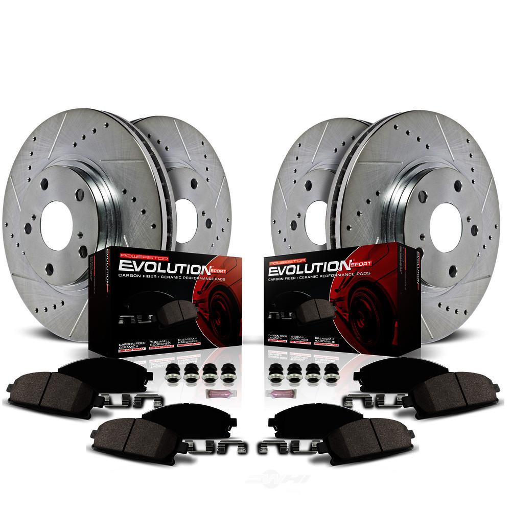 POWER STOP - Z23 EvolutionSport Brake Upgrade Kit - PWS K7386
