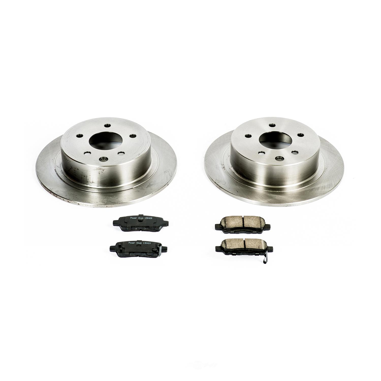 POWER STOP - Stock Replacement Brake Kit - PWS KOE098