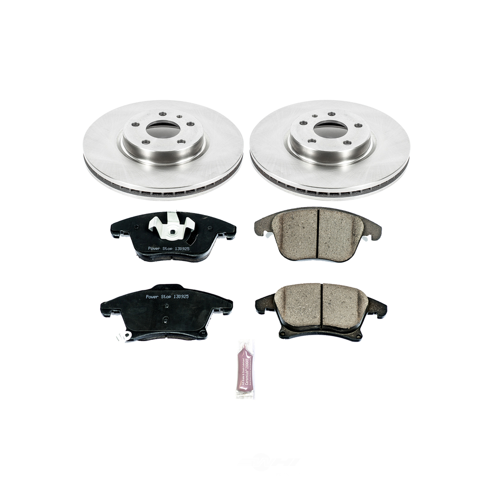 POWER STOP - Stock Replacement Brake Kit - PWS KOE1698