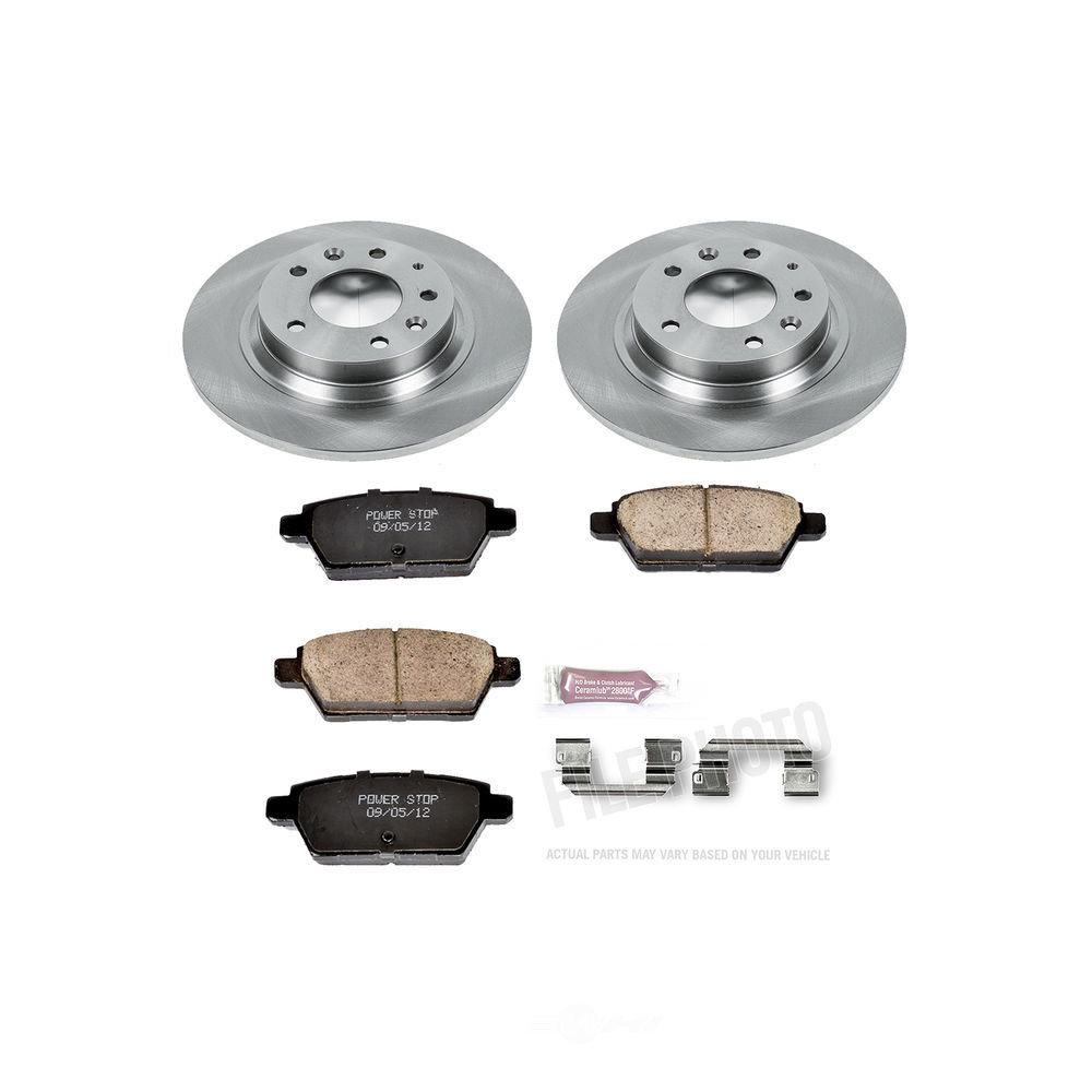 POWER STOP - Stock Replacement Brake Kit - PWS KOE2450
