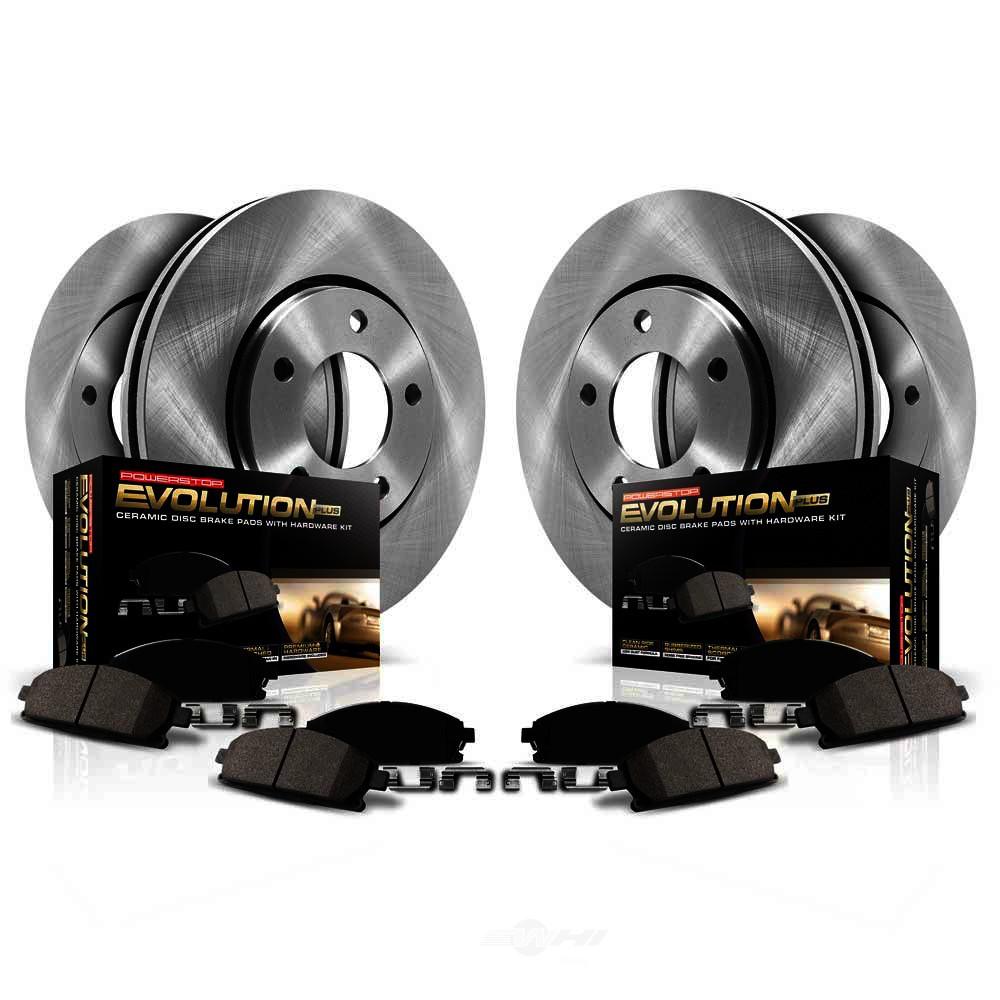 POWER STOP - Stock Replacement Brake Kit - PWS KOE7386
