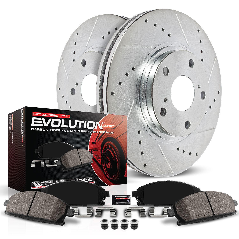 POWER STOP - Z23 EvolutionSport Brake Upgrade Kit - PWS K869