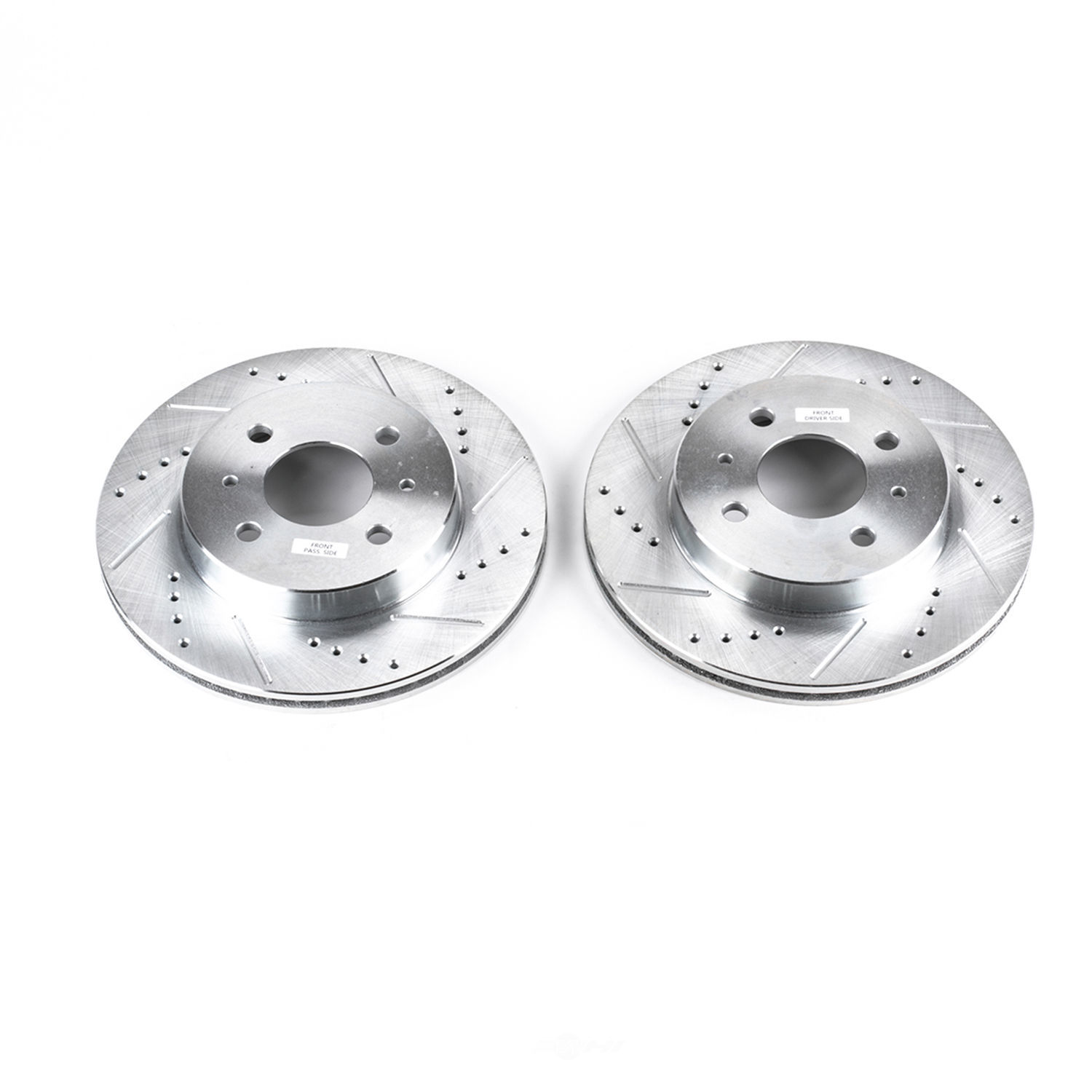 POWER STOP - Extreme Performance Drilled & Slotted Brake Rotor (Front) - PWS AR8238XPR