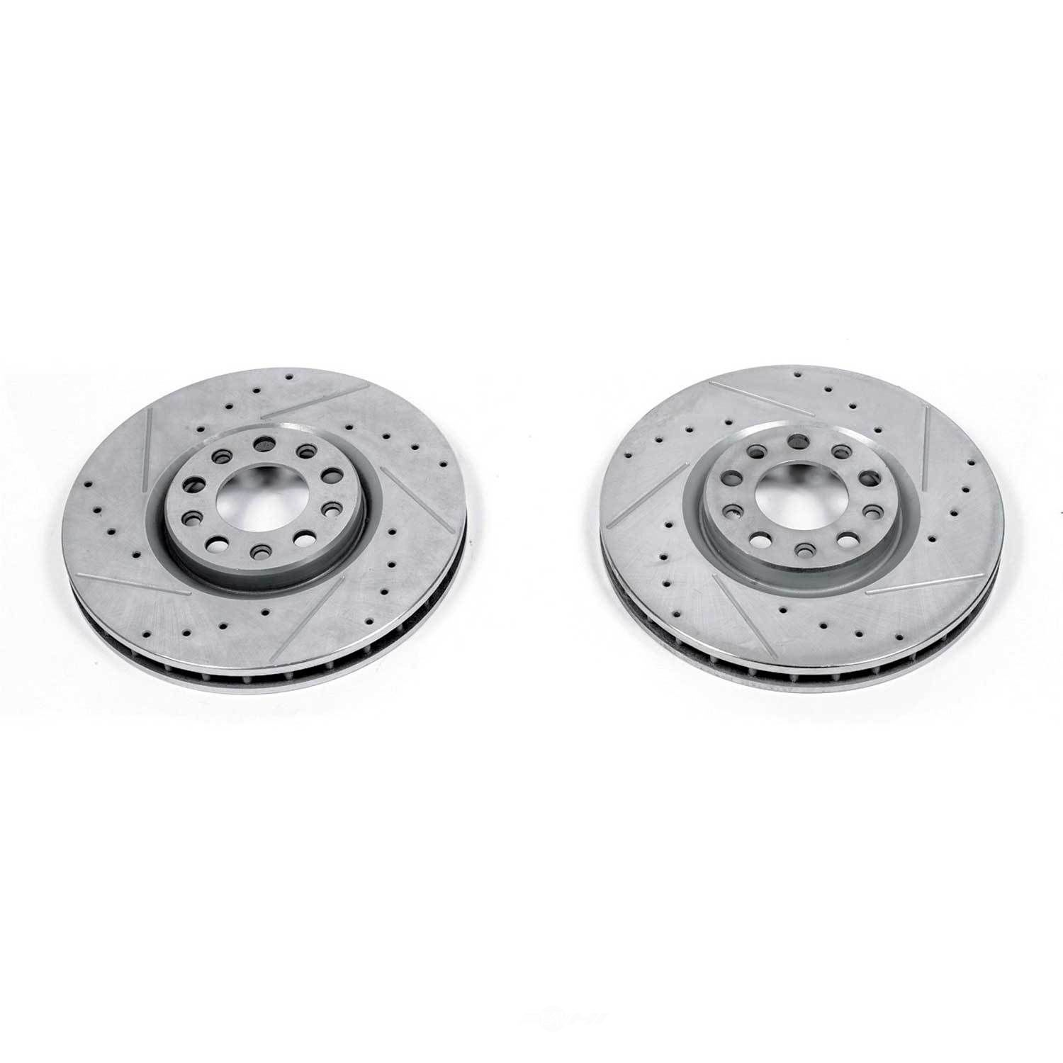 POWER STOP - Extreme Performance Drilled & Slotted Brake Rotor (Front) - PWS AR83086XPR