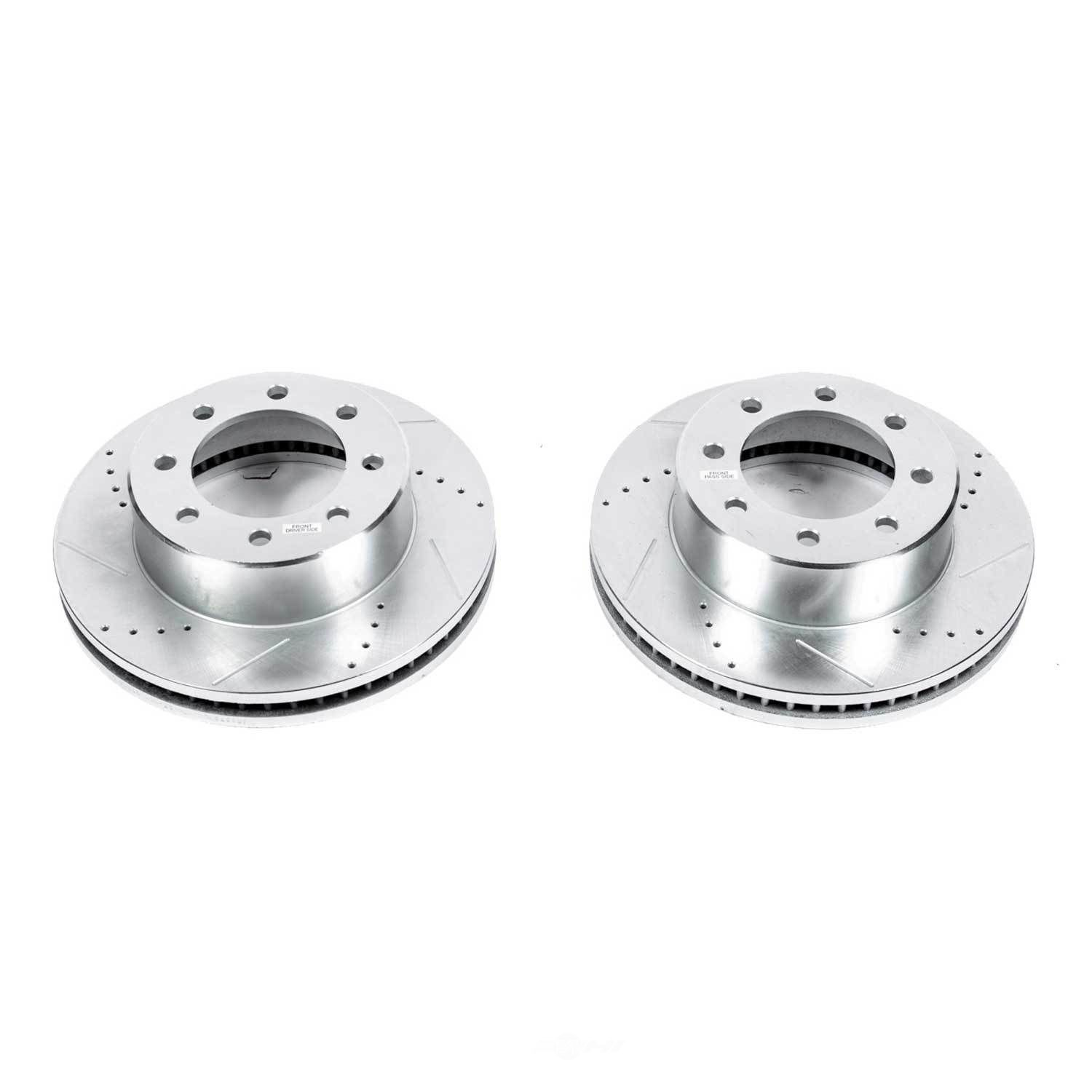 POWER STOP - Extreme Performance Drilled & Slotted Brake Rotor (Front) - PWS AR8373XPR