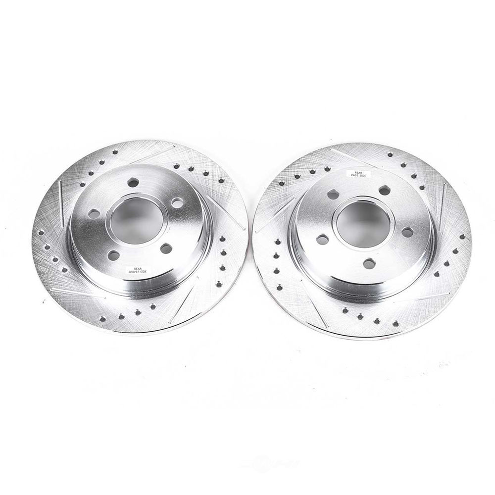 POWER STOP - Extreme Performance Drilled & Slotted Brake Rotor (Rear) - PWS AR85145XPR