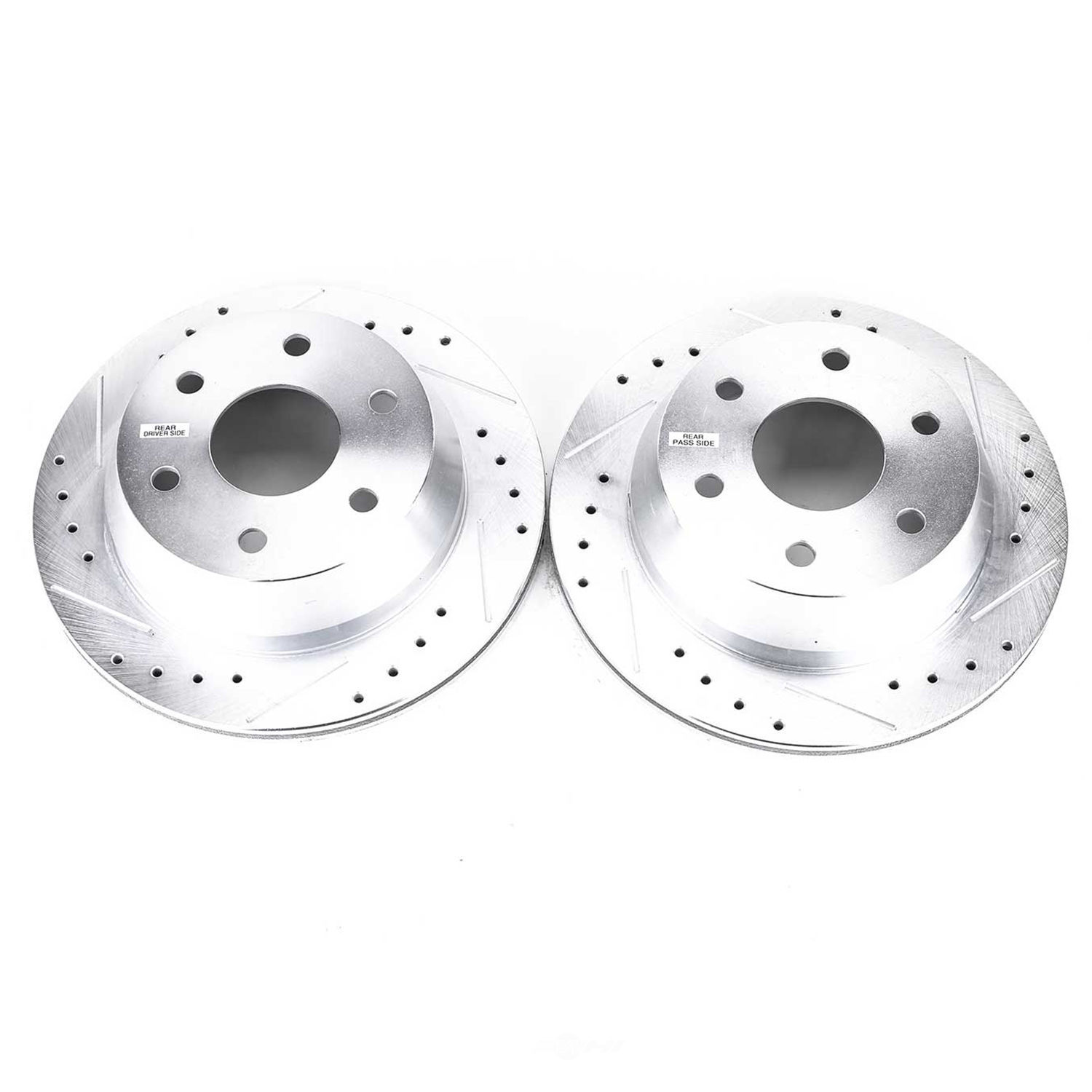 POWER STOP - Extreme Performance Drilled & Slotted Brake Rotor (Rear) - PWS AR8641XPR