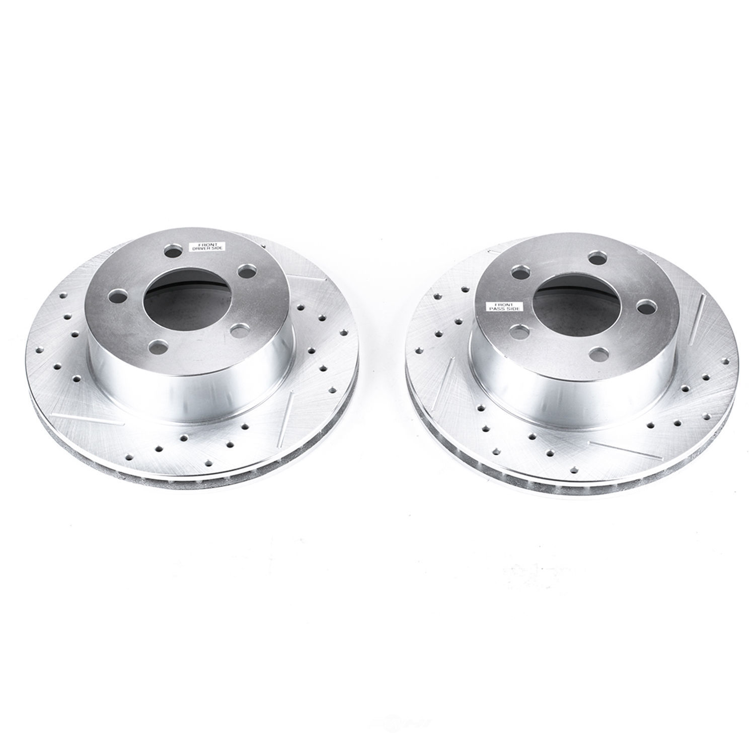 POWER STOP - Extreme Performance Drilled & Slotted Brake Rotor (Front) - PWS AR8722XPR
