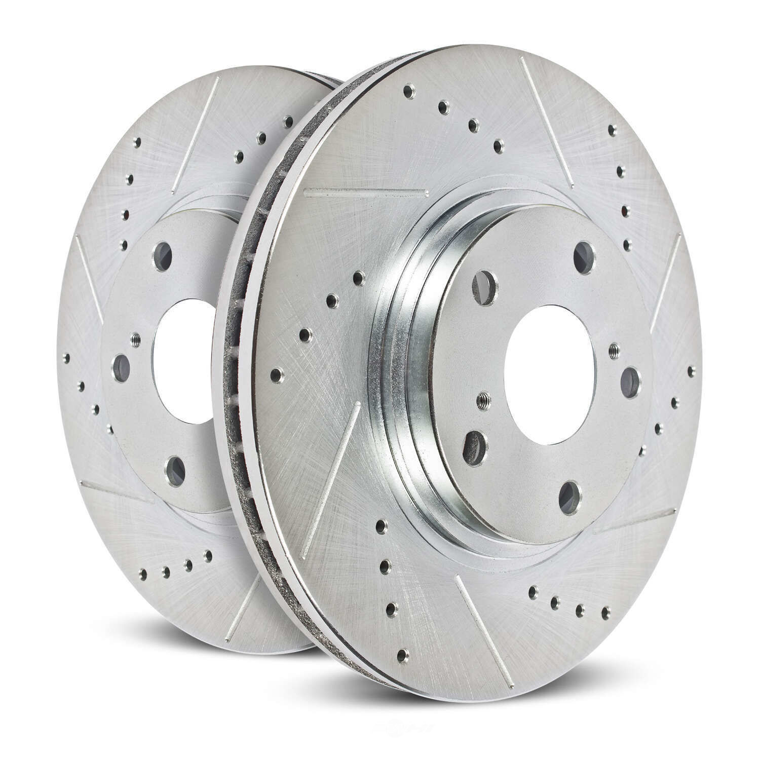 POWER STOP - Evolution Performance Drilled, Slotted& Plated Brake Rotor Pair (Front) - PWS JBR1129XPR