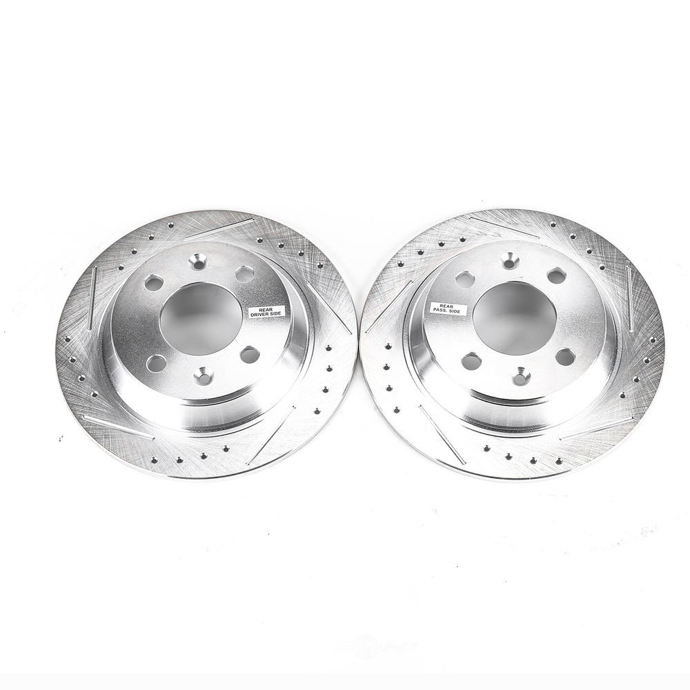 POWER STOP - Extreme Performance Drilled & Slotted Brake Rotor (Rear) - PWS EBR232XPR
