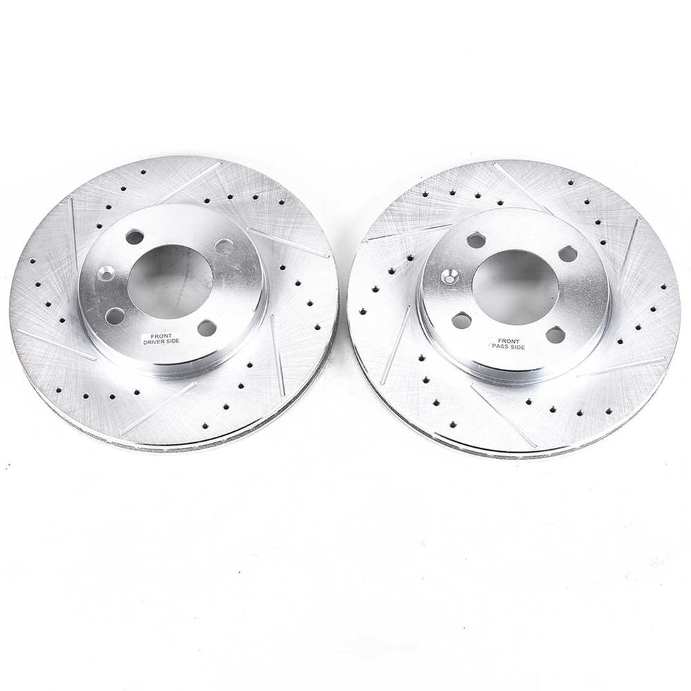 POWER STOP - Extreme Performance Drilled & Slotted Brake Rotor (Front) - PWS EBR251XPR