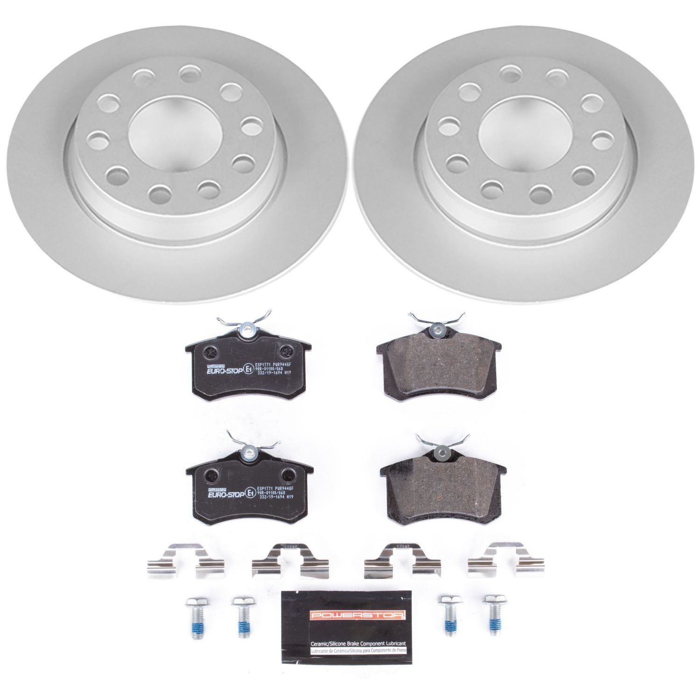 POWER STOP - Euro-Stop ECE-R90 Certified Brake Kit - PWS ESK3109